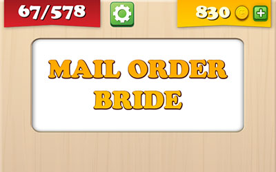 Restricted mail order bride encuentra